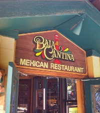 outside view of baja cantina mexican restaurant