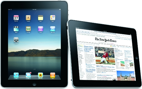 two ipad tablets side by side