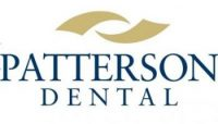 gold and blue Patterson Dental logo